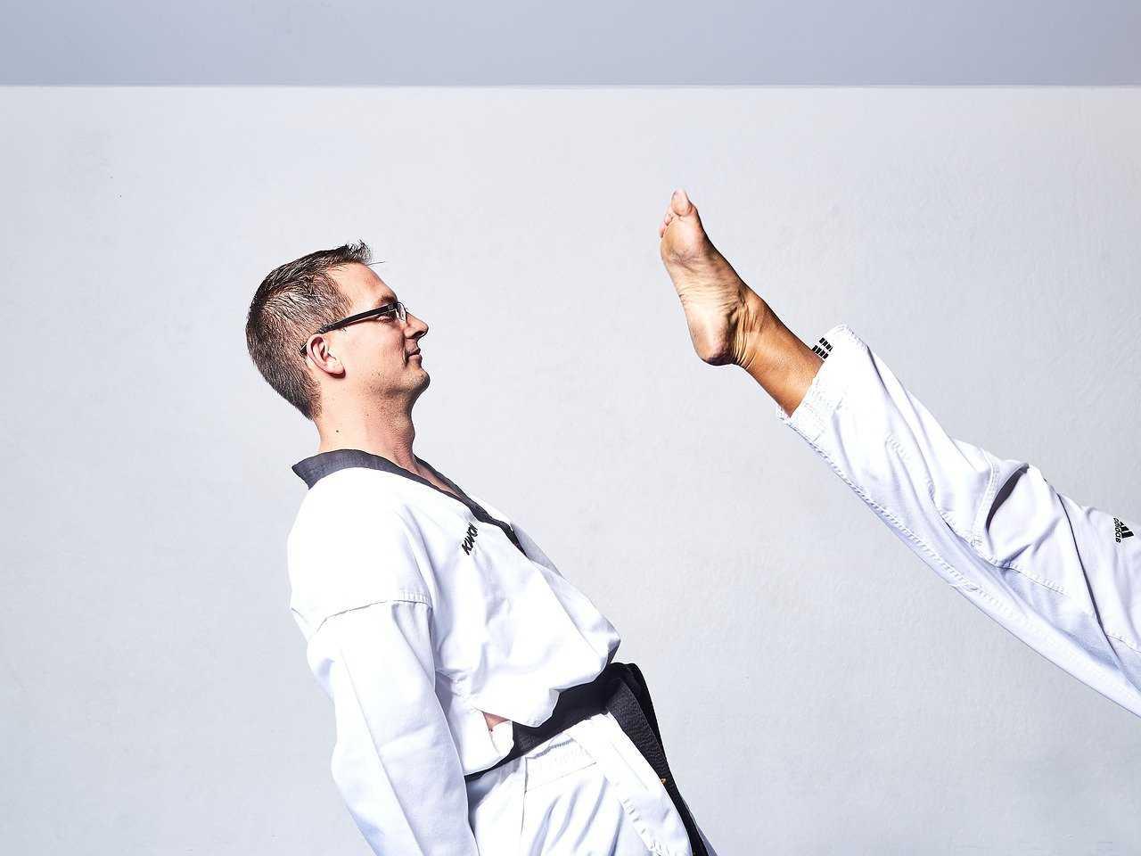 Trening Taekwondo